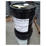 2 Pails of Phillips 66 Shield Choice SAE 10W-30