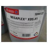 2 Pails of Phillips 66 Megaplex XD5 #1 Lithium Complex soap grease
