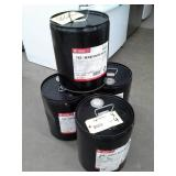 4 Metal Pails of  Phillips 66/Conoco T5X Heavy Duty SAE 40 Engine Oil for 2-Stroke Diesel Engines