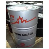 One Drum of Petro-Canada Duron-E Synthetic 10W-40 Premium Heavy Duty Diesel Engine Oil