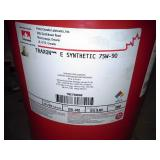 One Keg of Petro-Canada Traxon E Synthetic 75W-90 Synthetic Gear Lubricant