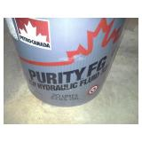 One Pail of Petro-Canada Purity Food Grade (FG) AW Hydraulic Fluid 32