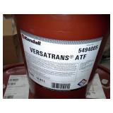 Three Pails of Kendall Versatrans Automatic Transmission Fluid
