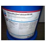 Two Pails of Chevron Ultra Gear Lubricant ISO 220