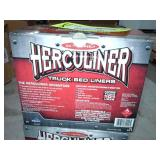 Pair of Herculiner Truck Bed Liner Roll-On Kits