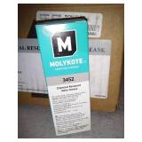 8 Tubes of Molykote 3452 Chemical Resistant Valve Grease