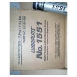 3 Cases of Lubriplate 1551 Multi-Purpose Lithium Complex Grease