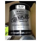 6 Small Cans of Lubriplate Number 130-A Lubricant