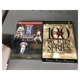 Two MLB DVDS