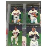1987 Minnesota Twins Post Cards