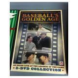 Three Baseball DVDs - Larson