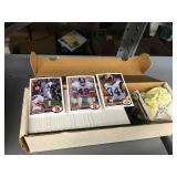 Three Miscellaneous Card Boxes - Various Sports & Years