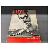 Autographed 1938 Life Magazine