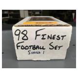 1998 Finest Football Card Set Series 1