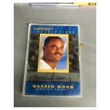 Autographed Warren Moon Card 1,717/2,800