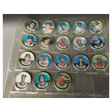 1980s Topps Complete Coin Set - Puckett/Hrbek