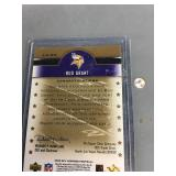 Autographed Bud Grant Card