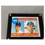Graig Nettles Card Plaque - Rookie Card & Certified Autographed Card