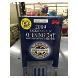 2009 Yankee Stadium Opening Day Card Set - Unopened