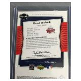 Kent Hrbek Classic Materials Game Used Card