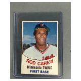 1977 Cut Out Rod Carew Card