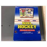 1990 Score NHL Card Box - Unopened Packs