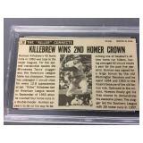 1964 Topps Giants Harmon Killebrew Card - PSA Graded