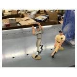 Starting Lineup Mickey Mantle & Roger Maris Figurines & Mickey Mantle & Joe Dimaggio Figurines