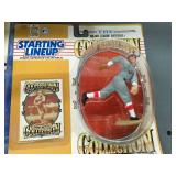 Starting Lineup Babe Ruth Figurine & Frank Thomas/ Babe Ruth Figurines