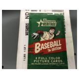 2003 Bowman Heritage MLB Card Set