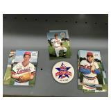 1985 Minnesota Twins All Star Game Pin & Team Post Cards