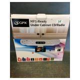 Under Cabinet CD/Radio