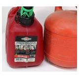 Lot of (3) 1.25gal Gas Cans