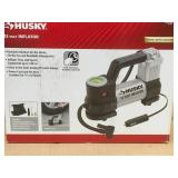 Husky 12-Volt Inflator in good condition