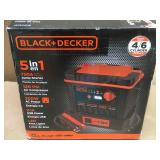 BLACK + DECKER JS75C2PB 750 Amp Portable Power Station in good condition