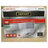 Defiant 180 Degree White LED Motion Outdoor Security Light in good condition
