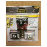Defiant 80 Lumen LED Headlight (3-Pack) in good condition