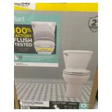 American Standard Reliant 2-piece 1.28 GPF Single Flush Round Toilet in White with Slow Close Seat not used