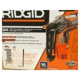 RIDGID 18-Volt Cordless Brushless HYPERDRIVE 16-Gauge 2-1/2 in. Straight Finish Nailer (Tool-Only) BeltClip and Bag (500-Nails)