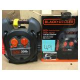 BLACK+DECKER 300 Amp Portable Jump Starter in good condition