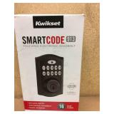 Kwikset SmartCode 913 Venetian Bronze Single Cylinder Electronic Deadbolt Featuring SmartKey Security in good condition