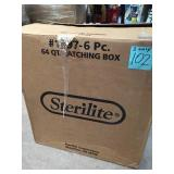 Sterilite 64 Qt. Latching Storage Box QTY 3 in good condition