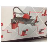 Rubi 8 in. 120-Volt Tile Saw DU EVO 26 in. in good conditions