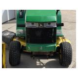 John Deere LX172 Lawn Tractor With Snow Blower
