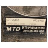MTD Yard-Machines Lawn Tractor Grass Catcher Hopper