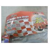 2 Packs of Erickson Rubber Tarp Straps