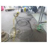 Fish Basket and Nets