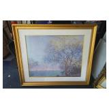 Monet Framed Tree Picture 41x36