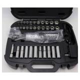 Husky 12 Volt Cordless Ratchet w/34 Piece Socket Set