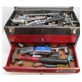 Tool Box with Various Tools